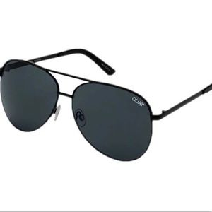 Quay Australia Vivienne Aviator Sunglasses